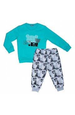 KIDS BABY DEAR PRINTING SUIT