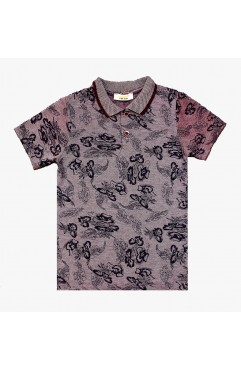 CHILDREN SELF PRINTING SHORT SLEEVE LACOST