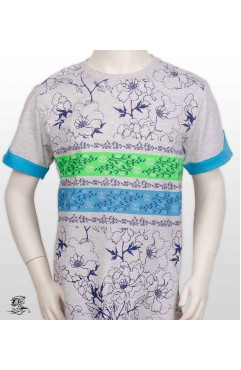 TSHIRT KIDS WITH MIXED PATTERN