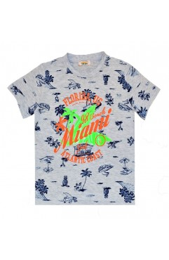 FLORIDA. US 98 BEACH PRINT TSHIRT