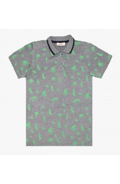 CEMENT PRINT SHORT SLEEVE LAKOST