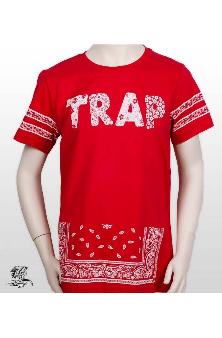 TRAP PRINTED MEN KIDS TSHIRT