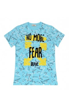 NO MORE FEAR PRINT TSHIRT