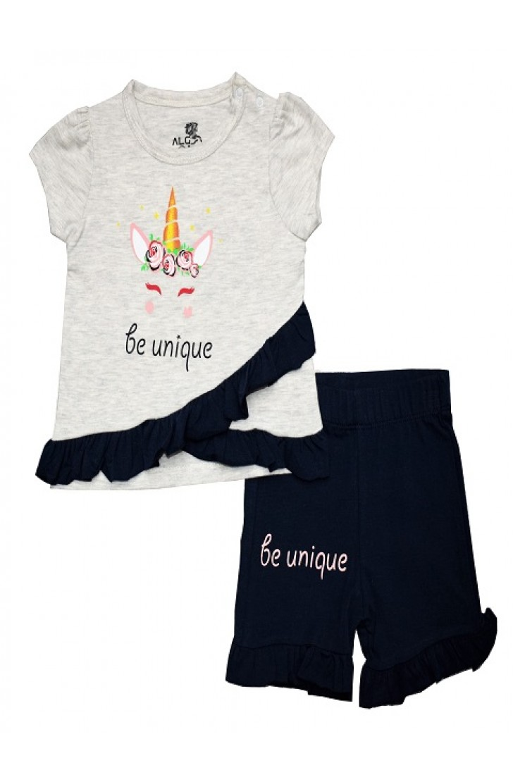 BE UNIGUE HORSE PRINTED SHORTS TEAM