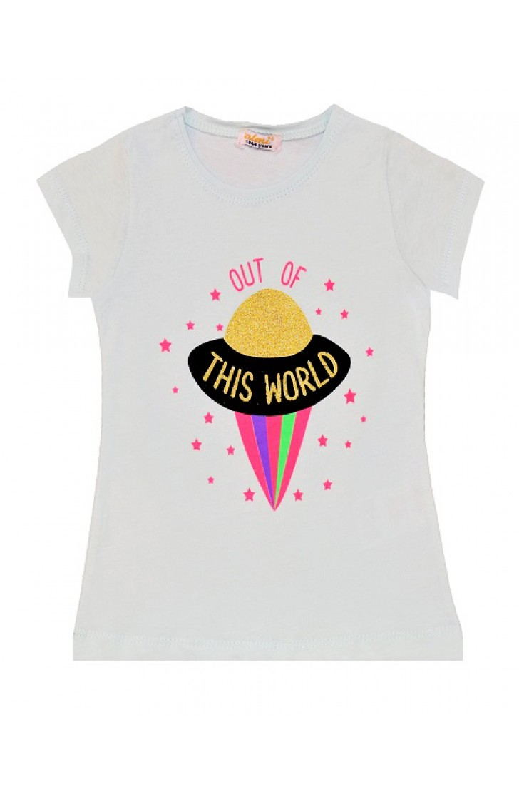 OUT OF THIS WORLD PRINT TSHIRT