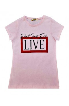 DON'T JUST EXİT LIVE PRINT TSHIRT