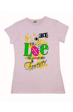 BIG LOVE FOREVER PRINT TSHIRT