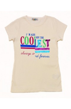 COOL LEST PRINTING EMBROIDERY TSHIRT